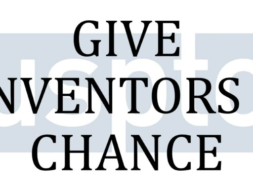 GIVE INVENTORS A CHANCE