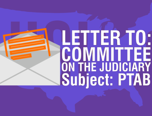 Letter To The Committee On The Judiciary